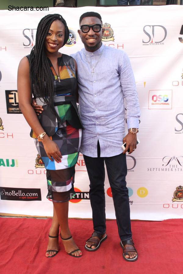 Timi Dakolo Joins Bryan Okwara As OUCH Brand Ambassador As Model Charles Emerges Ouchman 2016