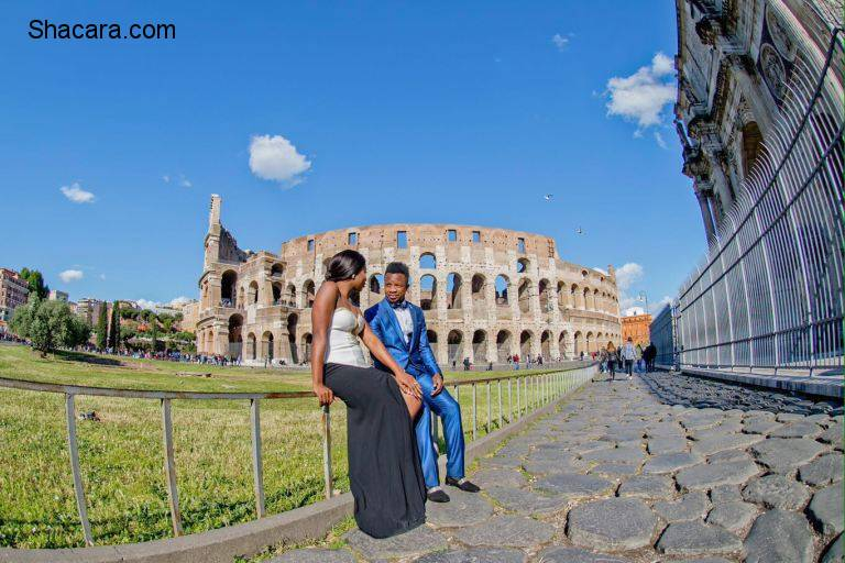 Pre-Wedding Photos: Super Eagles Star And S.S. Lazio Midfield Player Onazi Ogenyi Is Getting Married