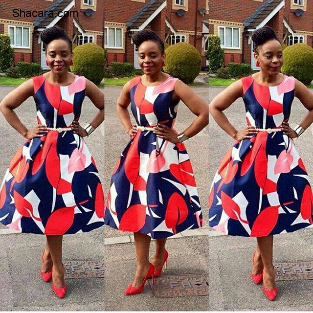 LATEST ANKARA STYLES BEING SLAYED THIS WEEKEND