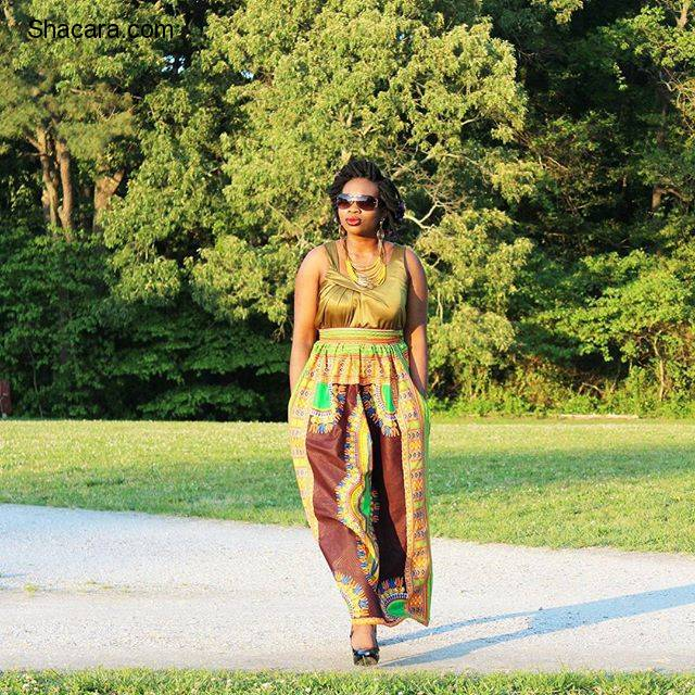 SPICE UP YOUR VIBE WITH THIS LATEST ANKARA STYLES