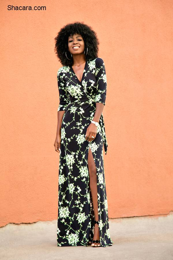 Folake Huntoon Will Make You Fall In Love Over Again With The Wrap Dress