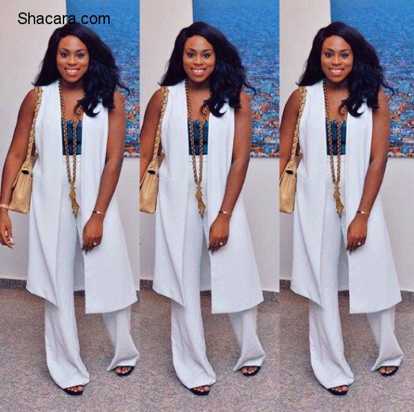 15 Times Ozinna Anumudu Schooled Us On How To Rock White