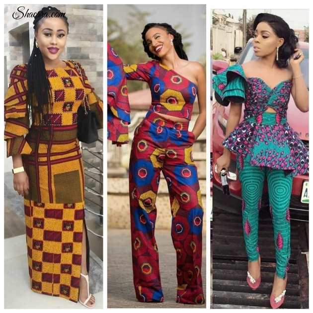 ANKARA IN ALL IT'S LOVELINESS: LOOK LOVELY IN THESE STYLES
