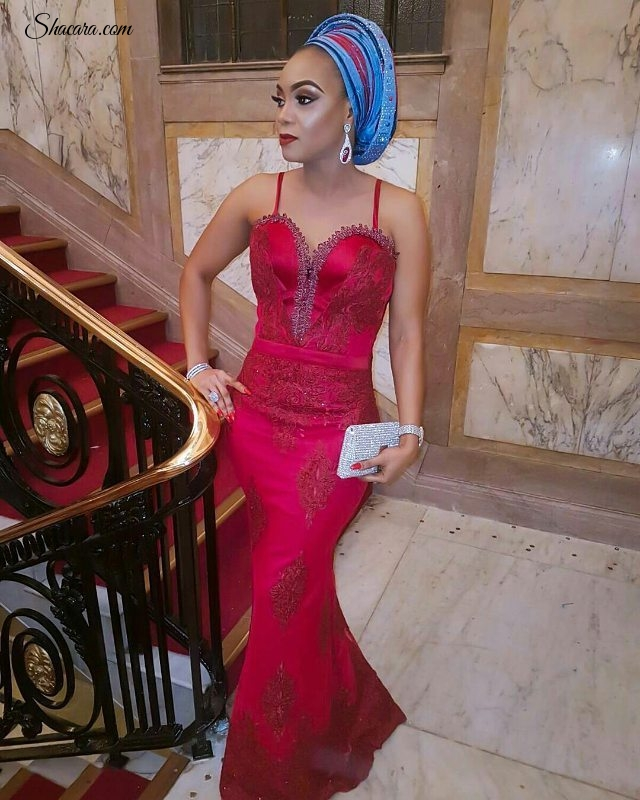 Turn Heads This Weekend In Breath Taking Aso Ebi styles