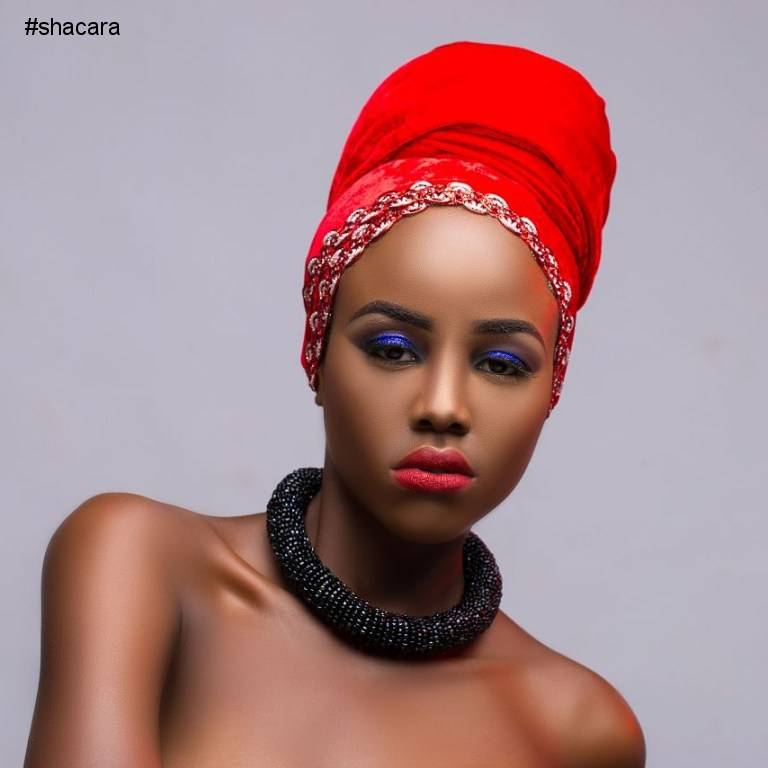 SCARF STYLE INSPIRATION BY MUA CHISOM OKERE