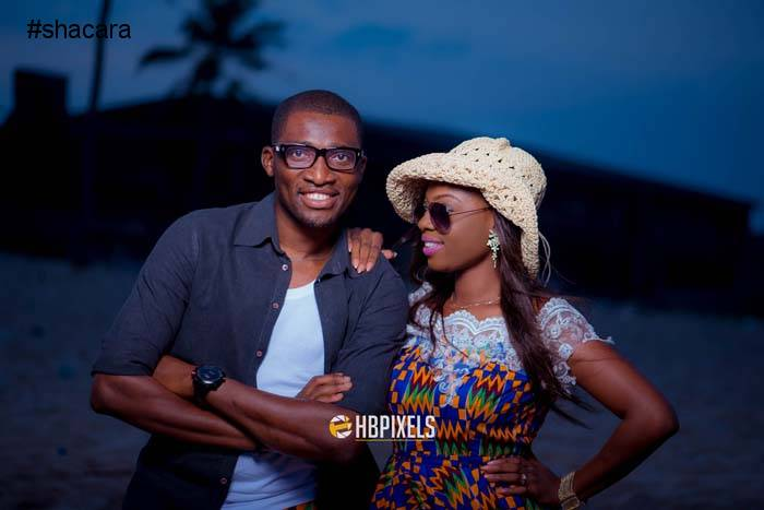 A Perfect Fit! Read Eniola & Emmanuel's Love Story + Photos From Their Engagement Session