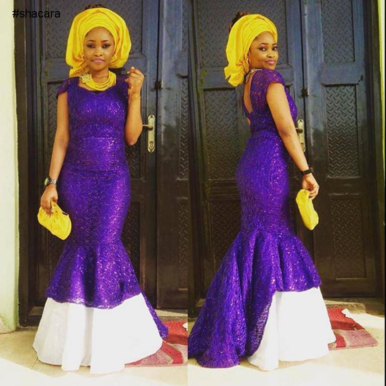 LATEST ASO EBI STYLES THAT TURNED HEADS LAST WEEKEND.