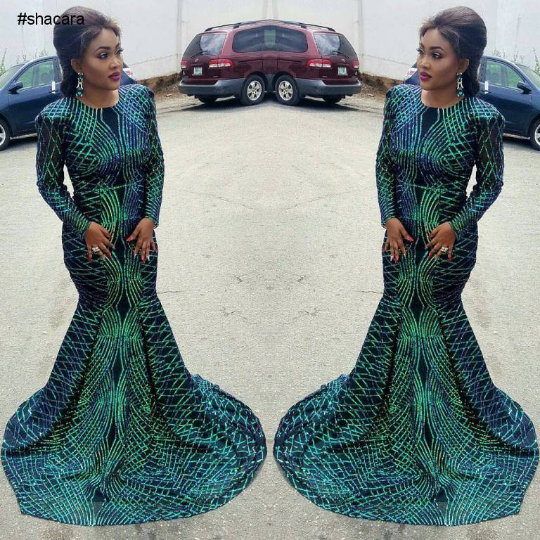 ACTRESS MERCY AIGBE GENTRY STEPPED OUT FOR THE 7TH EDITION OF CITY PEOPLES AWARDS LOOKING BREATHTAKING
