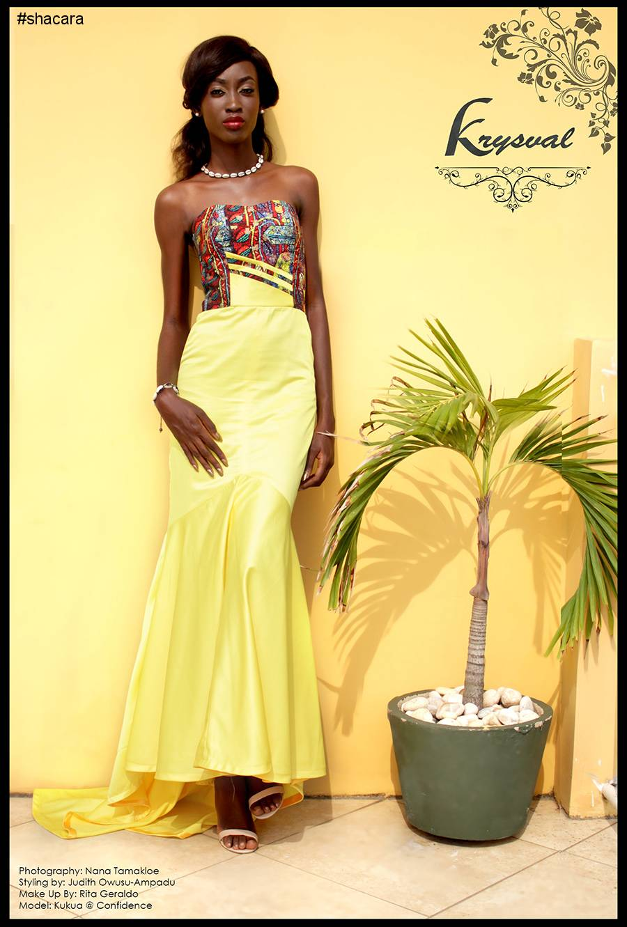 New Ghanaian Fashion Brand Krysval Debuts Its First Look Book, The 'Harmattan 2016' Collection