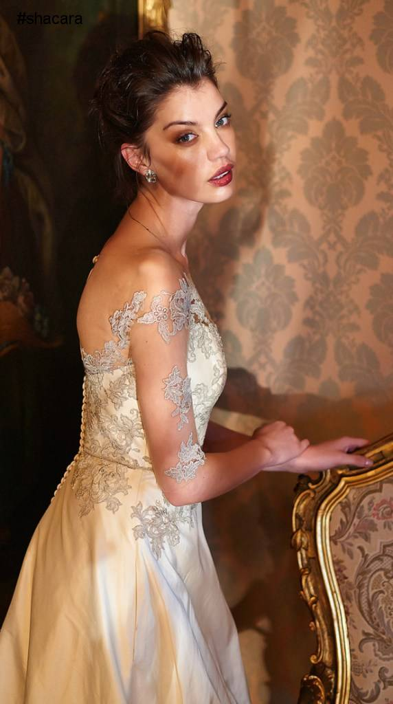 "SOUTH AFRICA'S ELBETH GILLIS ""ENCHANTING"" BRIDAL COLLECTION"