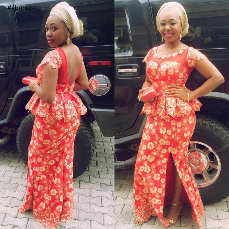 THE ONLY TO TURN UP THIS WEEKEND IS IN FABULOUS ASO EBI STYLES