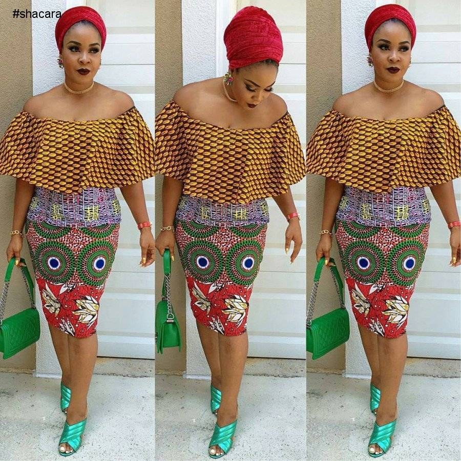 LATEST CORD LACE AND ANKARA PRINT STYLES YOU SHOULD SEE