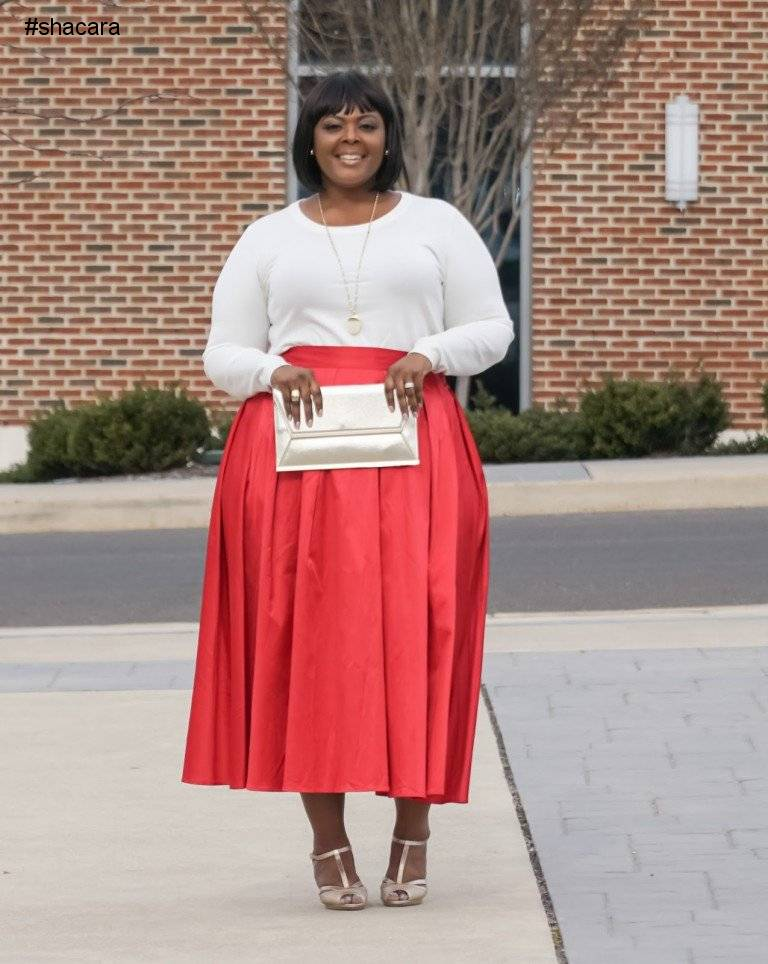 CHURCH OUTFIT IDEAS FOR THE PLUS SIZE DIVA