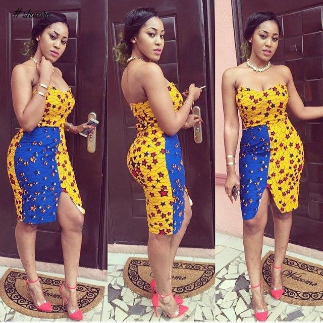 ANKARA STYLES FOR LADIES THAT LOVE SHOWING OFF SKIN