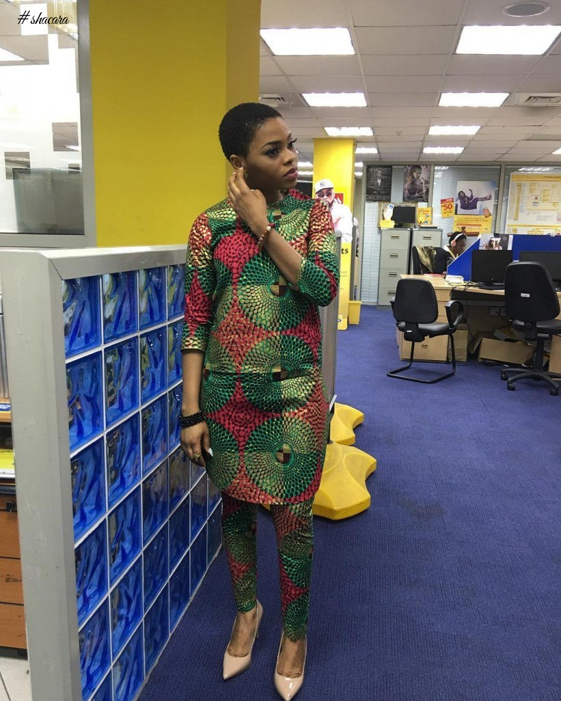 7 TIMES CHIDINMA HAS SHOWED OFF HER LOVE FOR ANKARA PRINTS