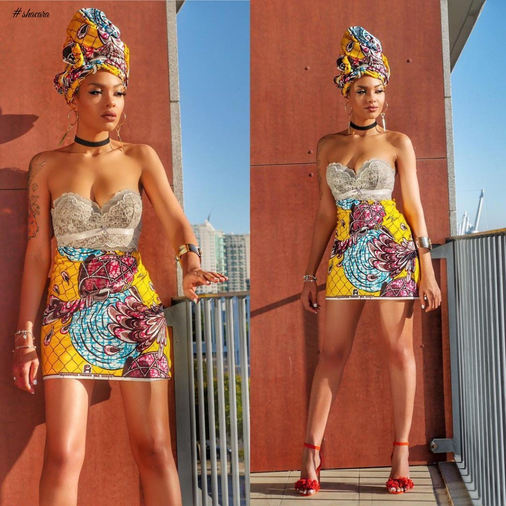 ANKARA STYLES FOR SISI'S ONLY