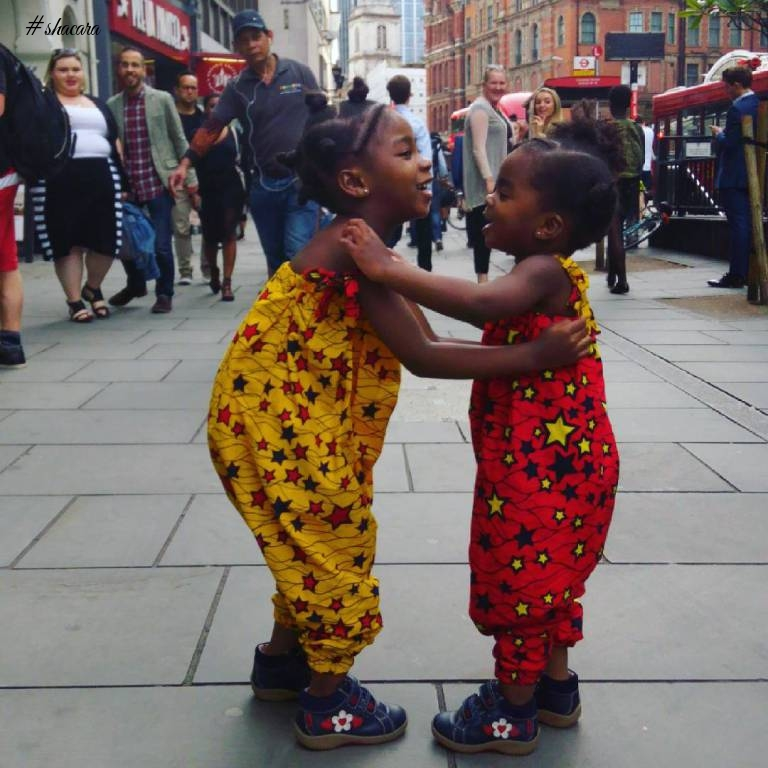 THESE TWO SISTERS ANKARA KIDS FASHION IS TOO LIT!!!