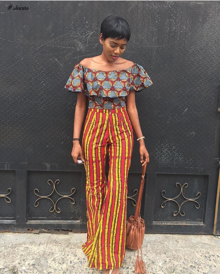 ANKARA STYLES THAT ADDS VOLUME