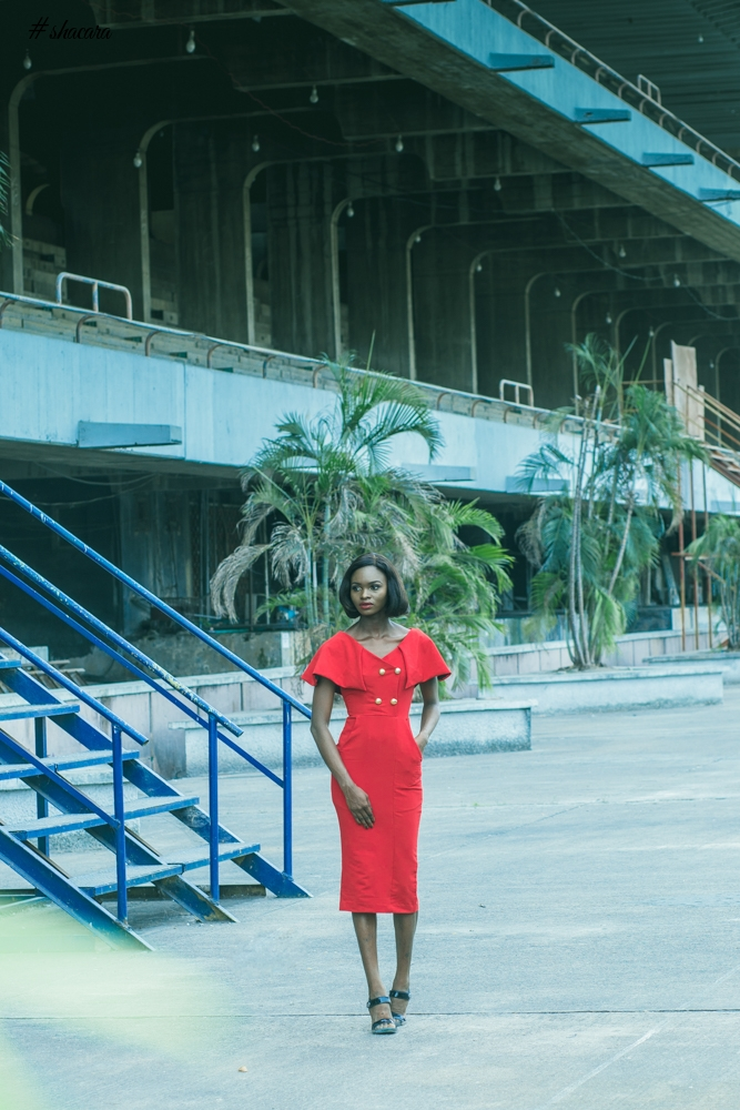 Inspired by Lagos! See Lady Biba's 'Lady in the City' Fashion Editorial