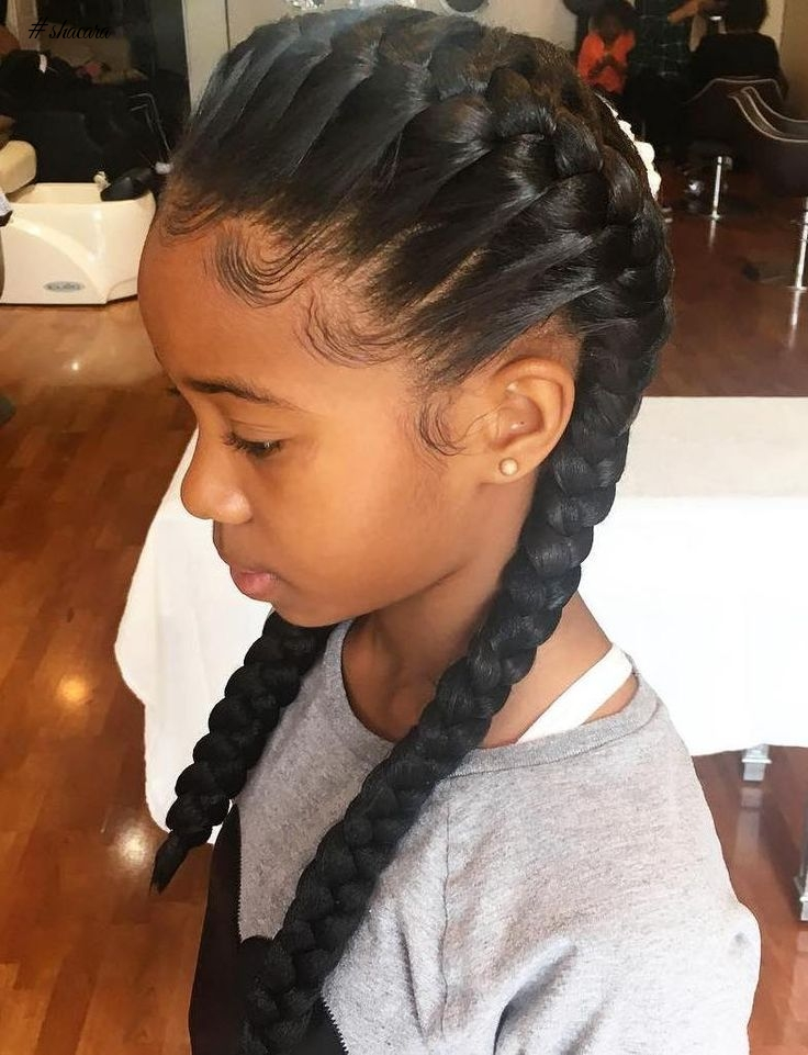 CLASSY HAIRSTYLES FOR LITTLE DIVAS THIS SEASON