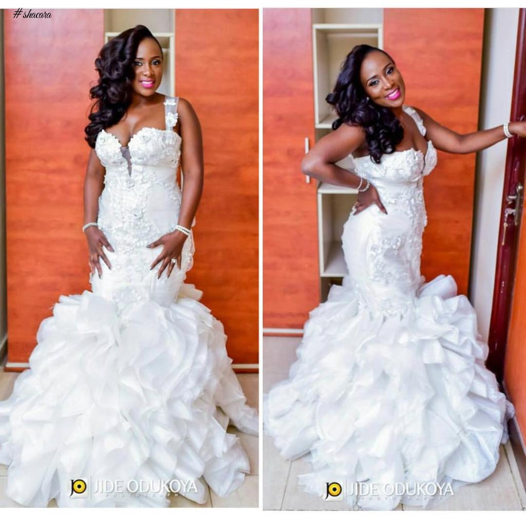 WE BRING TO YOU THE TRENDING, GLAMOROUS AND STUNNING NIGERIAN WEDDING DRESSES