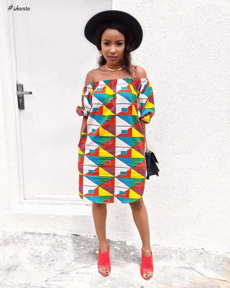 LATEST ANKARA SHIFT DRESS COLLECTIONS WE ARE CRUSHING ON