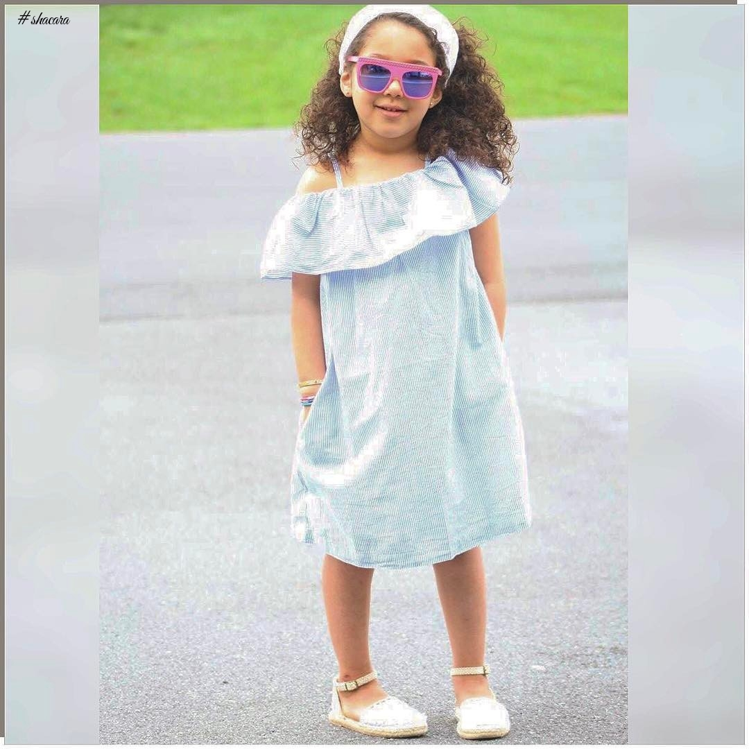 KIDDIES' PARTY DRESSES YOU SHOULD SEE!
