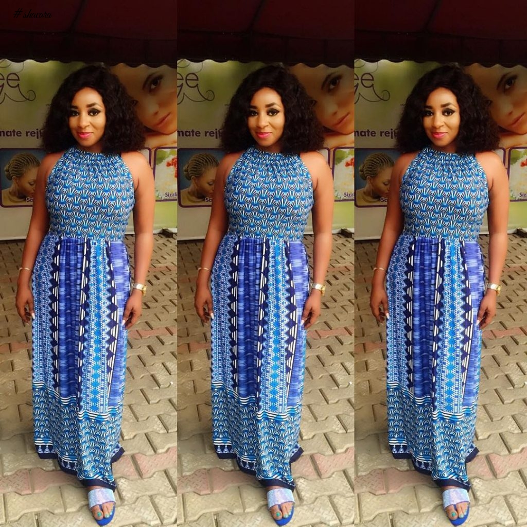 WEEKEND ANKARA STYLES WITH NOLLYWOOD ACTRESS MIDE FUNMI MARTINS