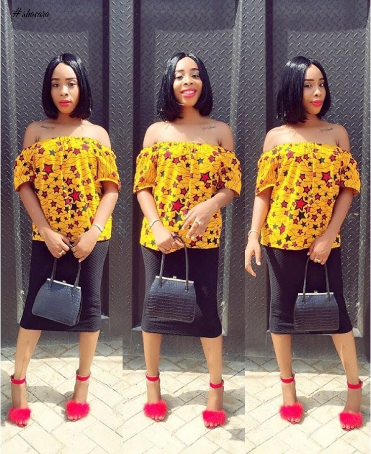 FROSHTASTIC IS WHAT WE CALL THESE ANKARA STYLES WE SAW OVER THE WEEKEND
