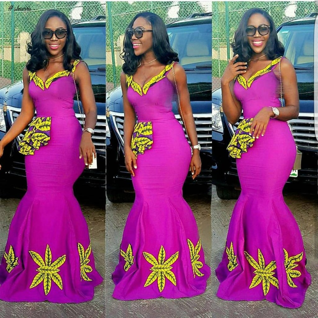 ANKARA STYLES FOR NIGERIAN BEAUTIES