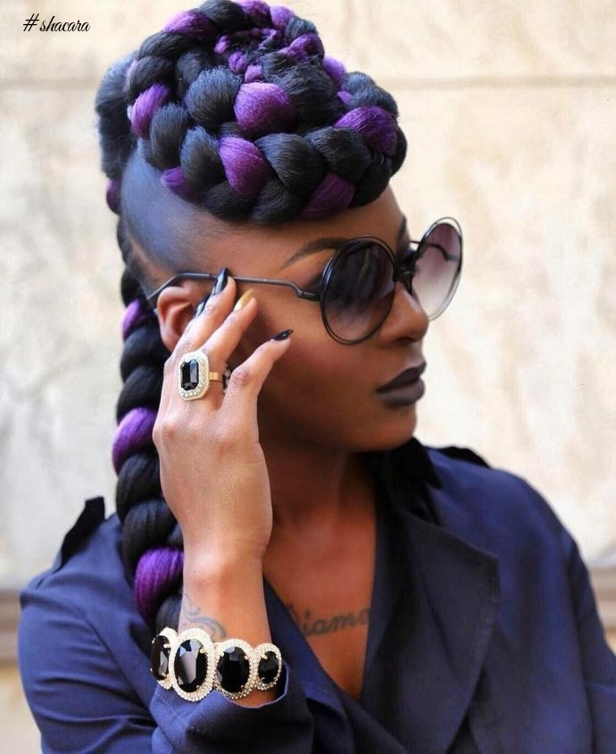 CHECK OUT THESE DARING HAIRSTYLES