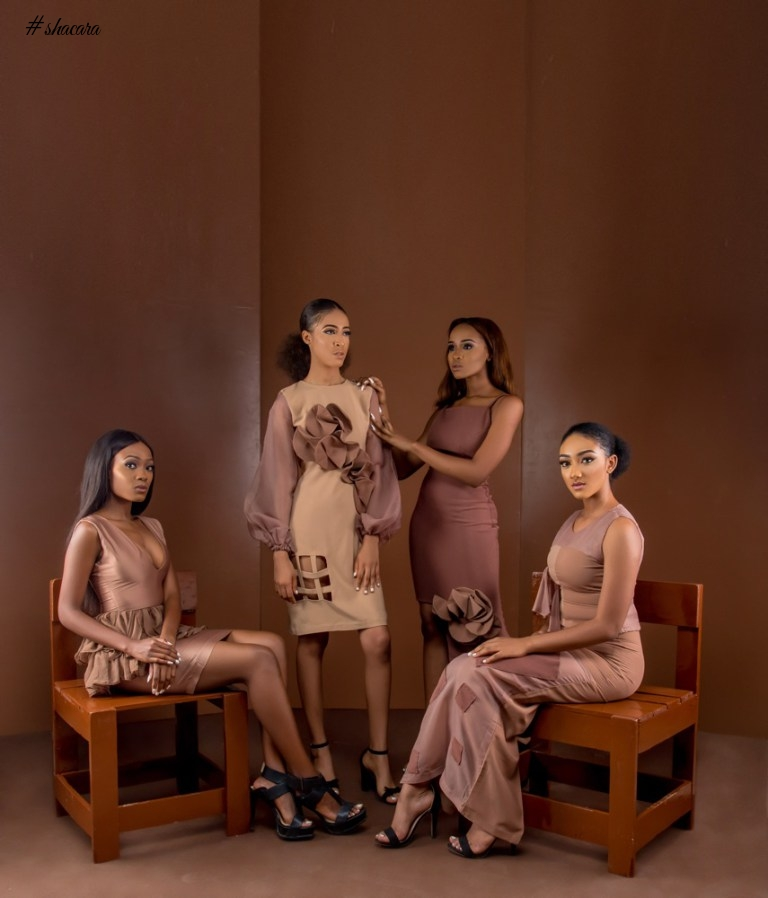 "NIGERIAN DESIGN LABEL MELODIA UNVEILS NEW COLLECTION ""THE UNCLAD SERIES"""