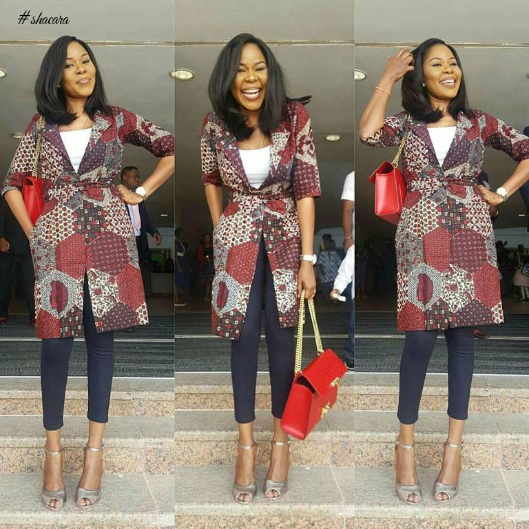 BEAUTIFUL CASUAL OUTING ANKARA STYLES INSPIRATION