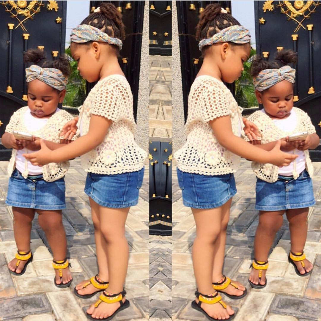 KIDDIES' OUTFITS THAT SIBLINGS CAN ROCK