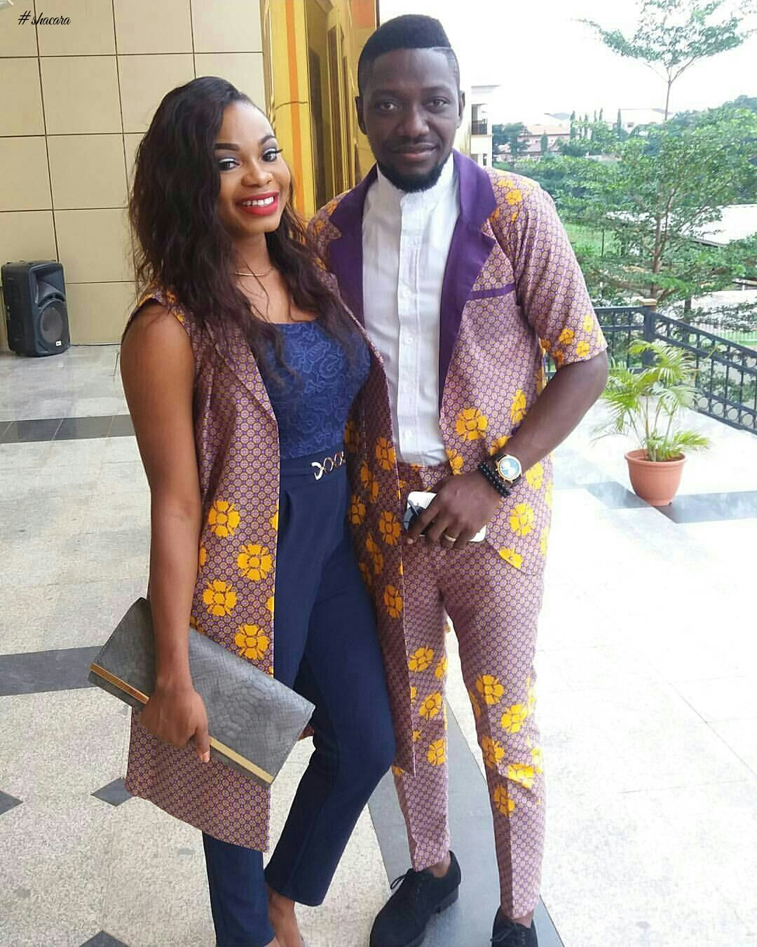 2017 Matching Traditional Ankara Designs for Nigerian Couples