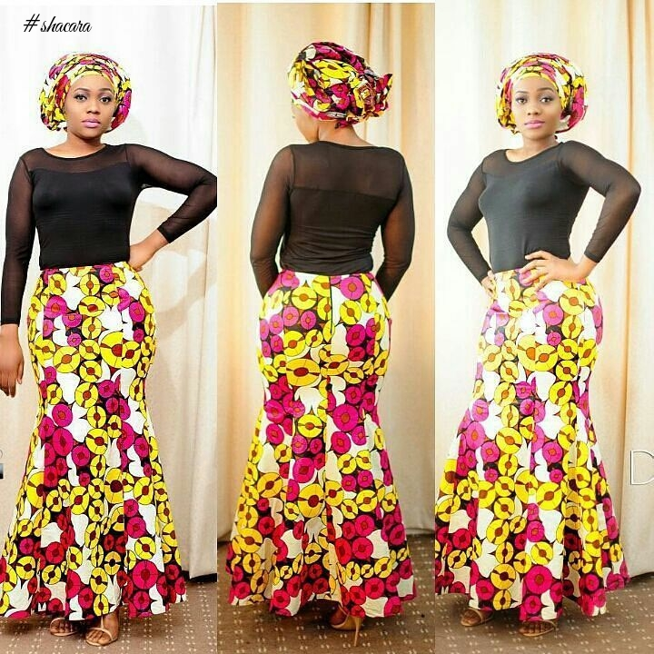 CHARMING LATEST ANKARA STYLES WE SAW OVER THE WEEKEND