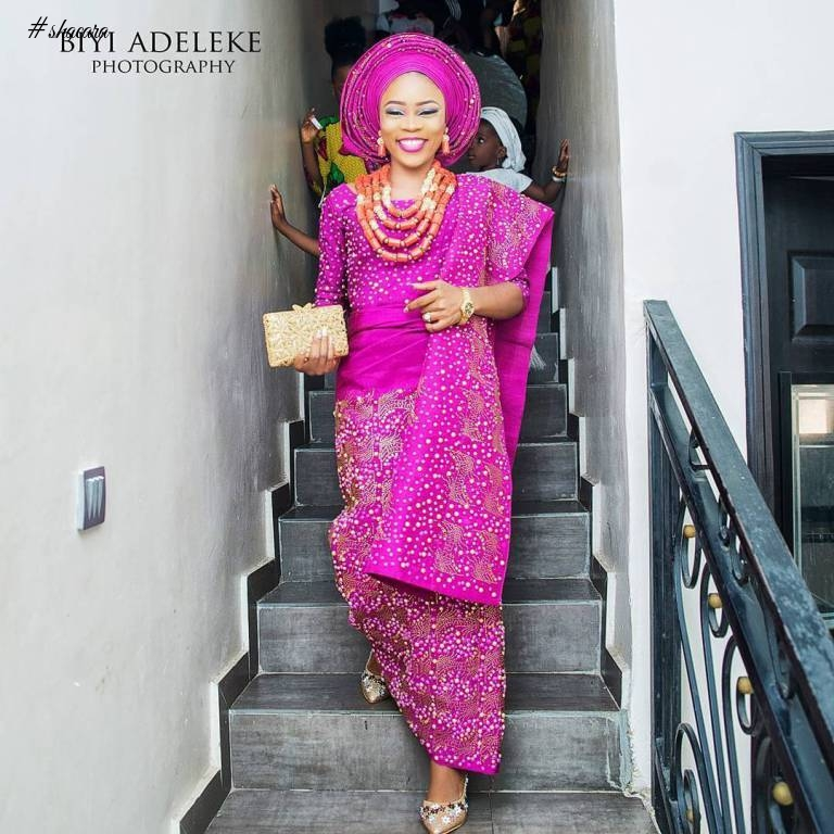 CHECK OUT THESE BEAUTIFUL BRIDES IN ASO OKE