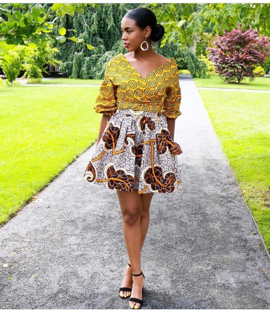 ANKARA STYLES THAT MAKE YOUR LEGS LOOK LONGER