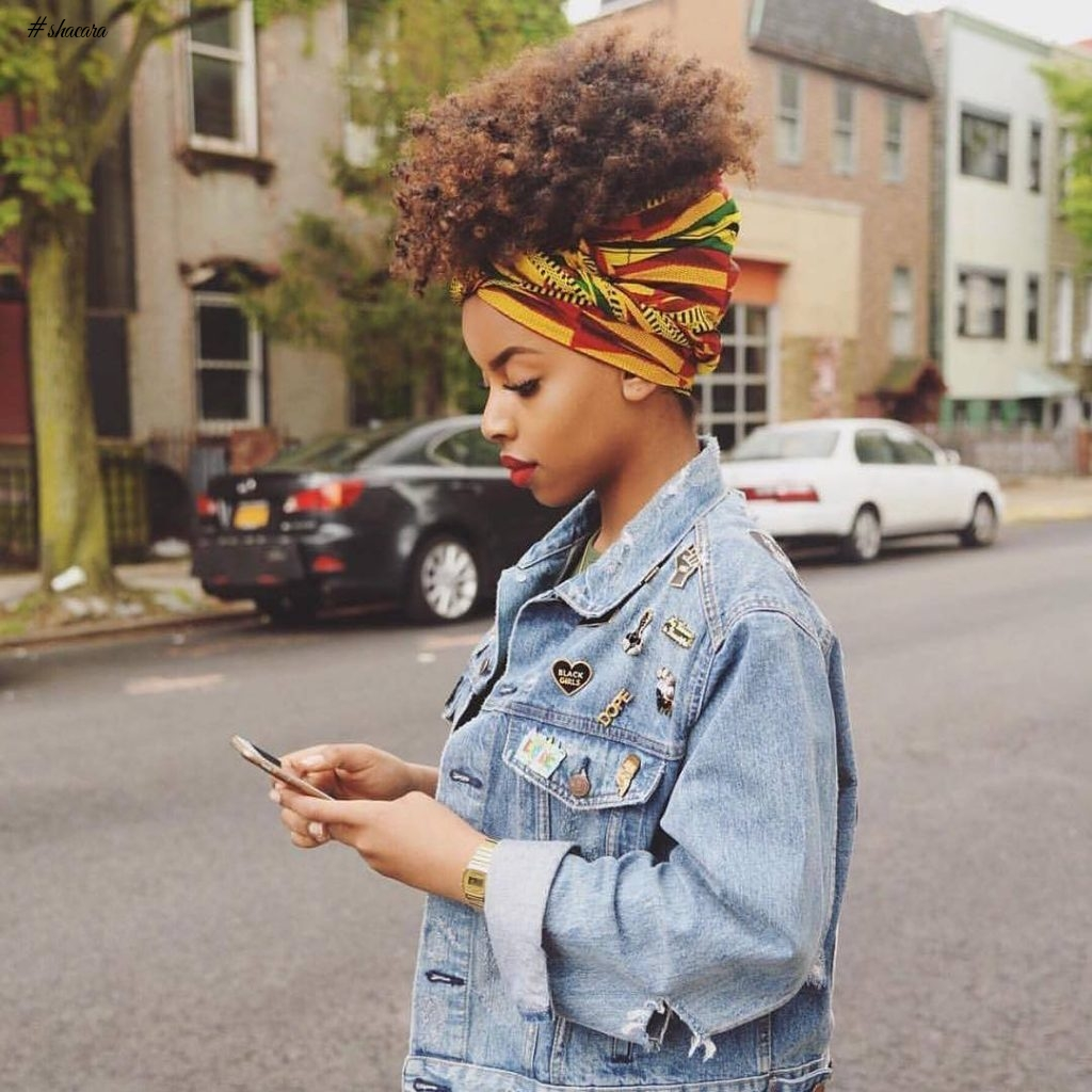 ANKARA HEAD WRAP IN PICTURES