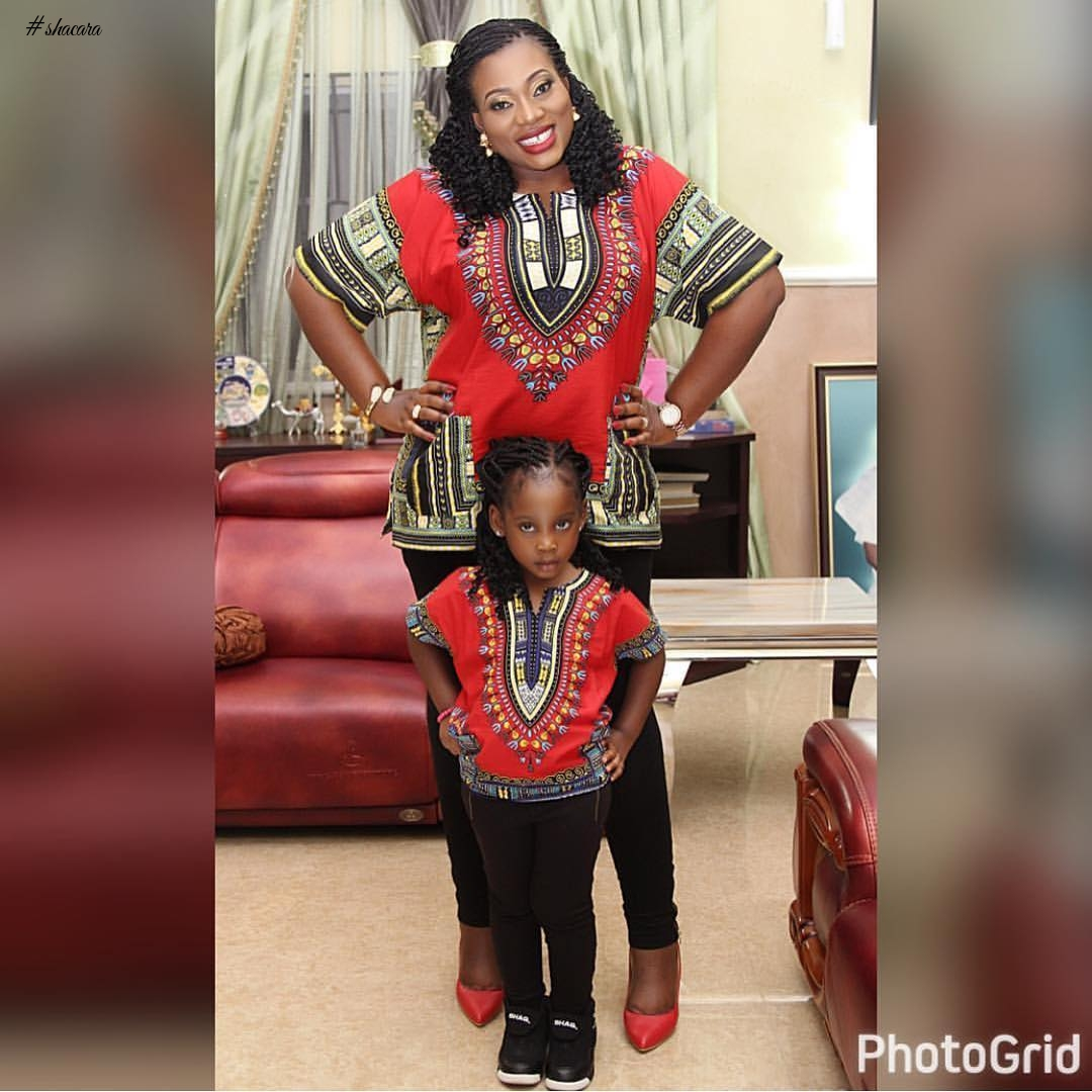 BEAUTIFUL MOTHER-DAUGHTER ANKARA TWIN OUTFITS YOU SHOULD SEE!