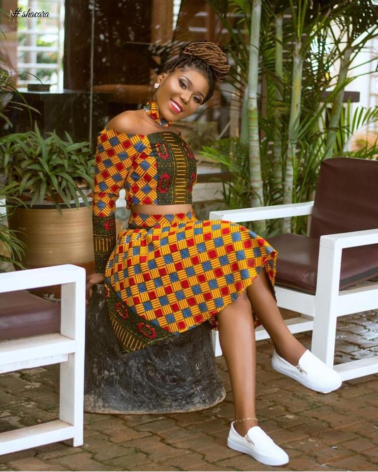 CHECK OUT THESE BEAUTIFUL ANKARA STYLES