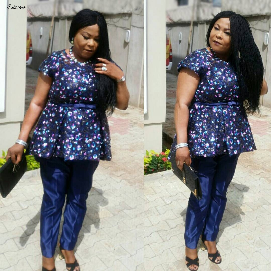 OLDER WOMEN STYLE WITH ACTRESS SOLA SOBOWALE