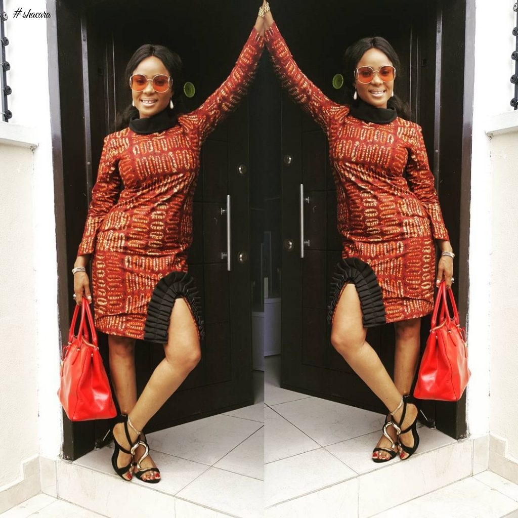 CELEBRITY STYLE CRUSH: IYABO OJO