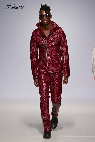 Tokyo James Showcases Edgy SS18 Collection At South African Menswear Week