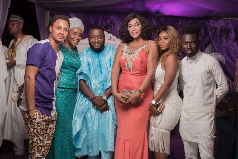 Ghanaian Actors & Actresses Come Out In Fab Wedding Guest Outfits For Movie Producer Nabil Meizongo