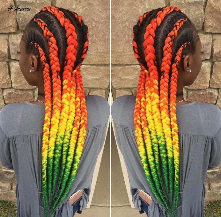 Multicoloured Braid Style: Would You Love To Rock It?