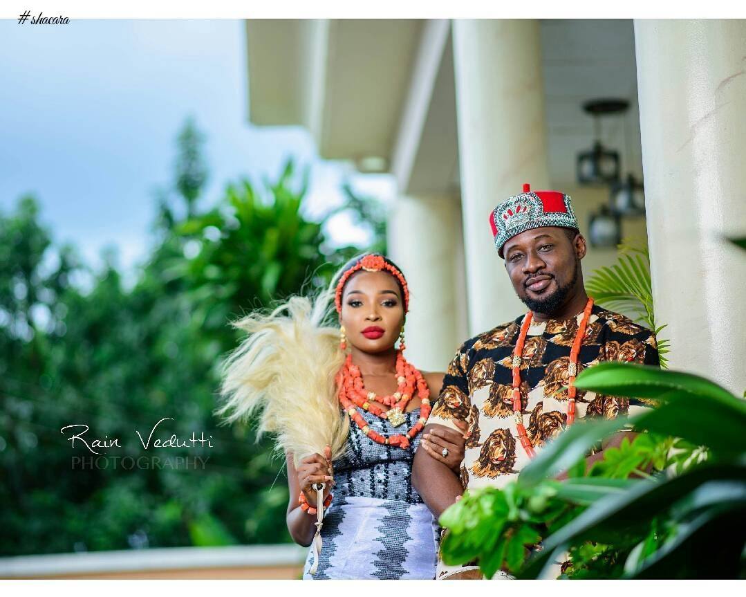 #TeeDkD17! See Photos From Daniel K Daniel's Traditional Marriage
