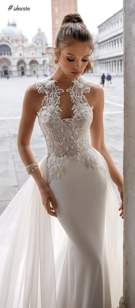 STUNNING WHITE WEDDING DRESSES FROM JULIE VINO 2018 SPRING COLLECTION