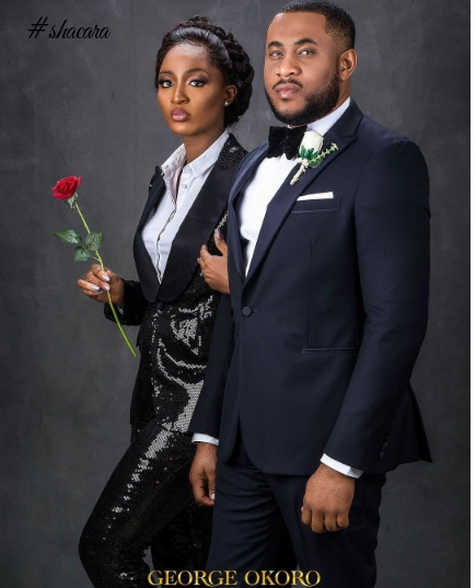 Bond & The Bond Girl! We Are Crushing On Powede & Ikenna's Pre-Wedding Shoot