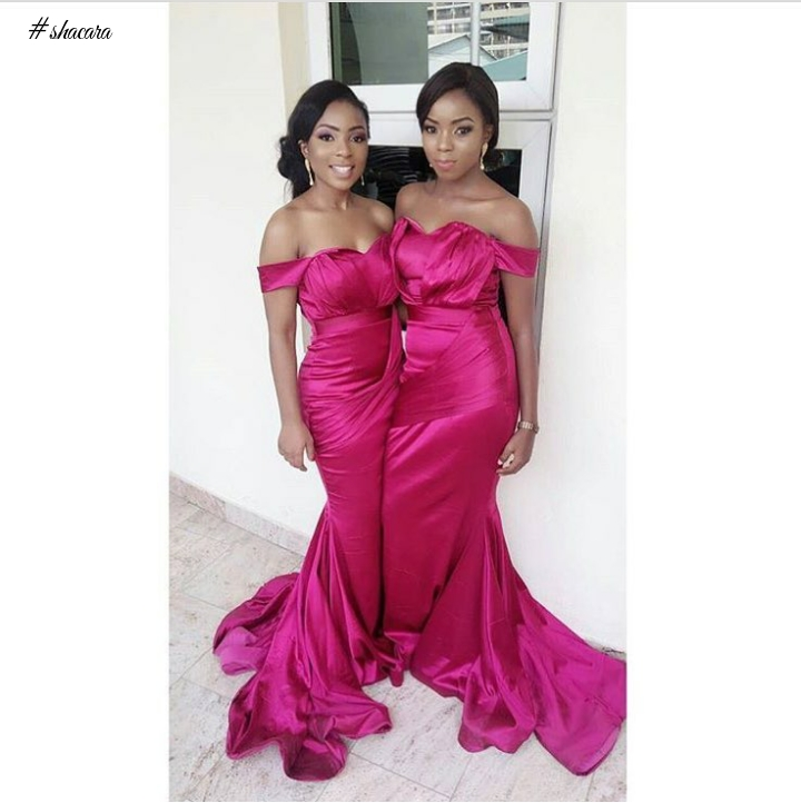 Looking To Slay As Bridesmaids? Let These Ladies Doing It Gorgeously Inspire You